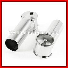 High quality Silver Tone Metal Car AM/FM Radio Antenna Adapter Plug Connector