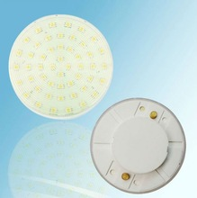 3w 3528smd plastic material GX53 LED Cabinet light white color or warm color beam angle 120 Degree