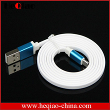 flat micro usb cable for samsung/blackberry/HTC/huawei android flat micro cable
