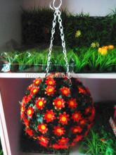 Natural plastic grass ball artificial grass ball plant for home decor
