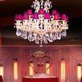роскошный декоративный светильник кристалла& новизна золотая подвеска лампы