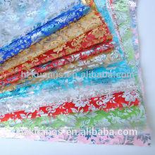 Bronceado tela de organza/flores de tela organza/chispa de tela de organza