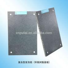 Super light aluminum foam sandwich panel epoxy prepreg skin