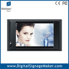 10 inch digital video monitor, stand on desktop advertising player