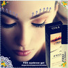 FEG brush-on eyebrow gel A that strokes brows into shape , eyebrow shaping tool