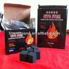 Hong Qiang hot sale bamboo cube charcoal coal for shisha bbq
