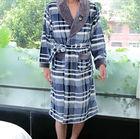 Adult Print Costume Pajamas Nightgowns for men Winter Warm Sleepwear Robe men fashion Bathrobe