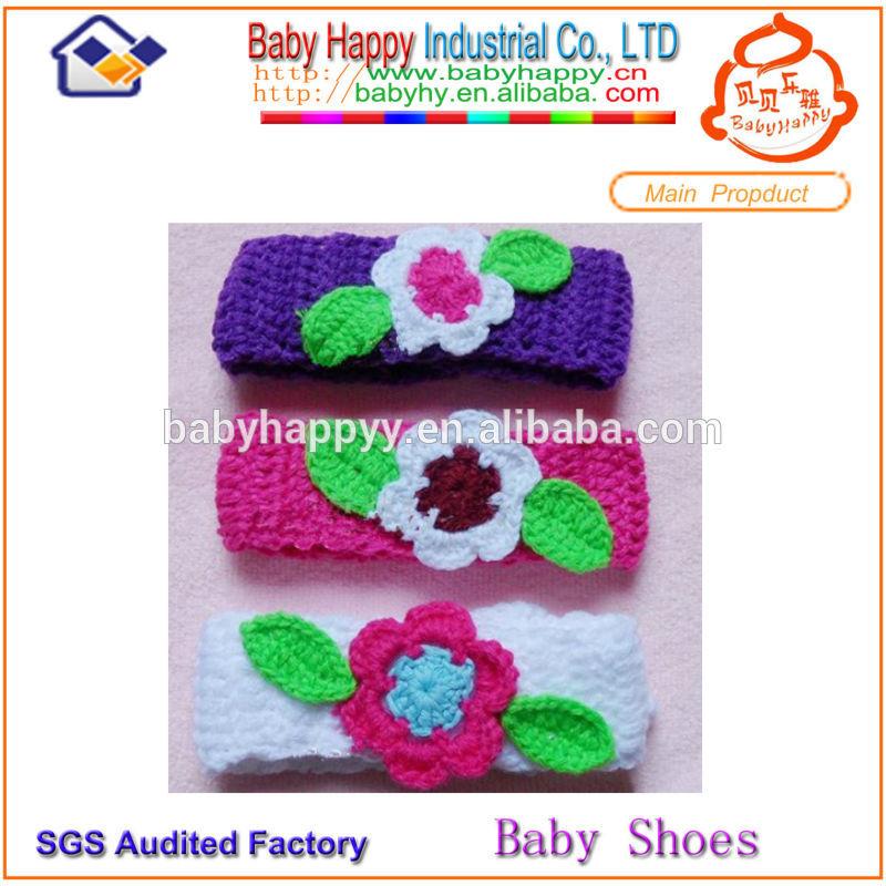 ucuz bebek çiçek tığ saç bandı