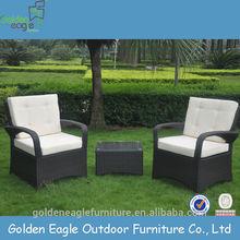 hand knitting garden sofa plastic outdoor furniture