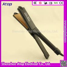 Superstar Hair Straightener Jet Black Flat Iron Used Beauty Salon Equipment For Sale
