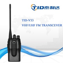 TD-V33 New Black Walkie Talkie high quality best color optional ctcss/dcs ham walky talky