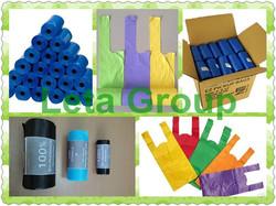 2014 high quality dog waste bag /dog leash with waste bag