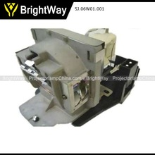 Projector lamp for Benq MP722 Bulb Part No. 5J.06W01.001