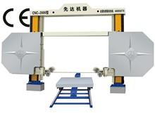 CNC diamond wire saw cutting machine -Biggest wire saw factory