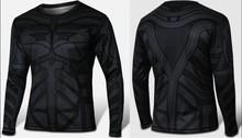 Custom all over sublimation printing batman t-shirt