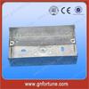 BS4662 3x6 Galvanized Steel Flush Mounted Box