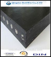 Oil and heat resistant steel cord conveyor belt