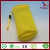 Wholesale Promotion Cheap Black Small Nylon Gift Sheer Mesh Drawstring Bag