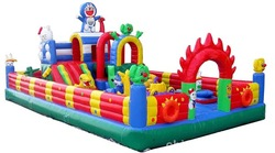 inflatable baby trampoline park/inflatable park slides