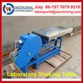 Aleación de aluminio Lab mesa vibradora, vida laboral larga de la minería del oro mesa vibradora, pequeño agitador máquina