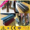 Wow!! Alloy aluminum profile for photo frame/colorful powder coating,wood grain,black anodized aluminum profile windows and door