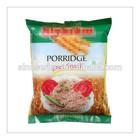 back sealed sachet bag for porridge diet snack