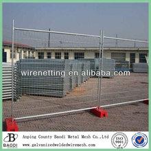 gi. carbon iron welded temporary fence idea