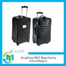 1680d black trolley travel bags for men