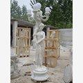 externa villa de diseño de mármol natural de las tortugas de talla de piedra