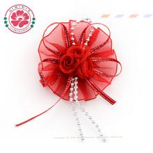 537 Handmade hair accessories making hair band with flower hair ornaments flowers