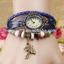 Classic women watch crystal ,Womens bird pendant watch, Quartz watches