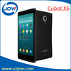 Arrival!!Original Cubot X6 Otca Core MTK6592 1.7ghz 5.0 Inch IPS OGS Android4.2.2 1G ram 16g ROM 8.0MP support GPS Phone/Andy