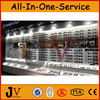 Fashion baking paint optical shelf,optical shop display showcase