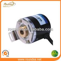R38T hollow shaft incremental encoder inductive sensor m5