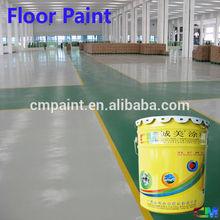 Color sand concrete epoxy factory industrial floor coating
