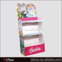 Beautiful Design cardboard shelf paper display