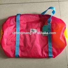 cheap wholesale foldable nylon travel bag, gym bag, duffel bag promotional