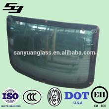 auto glass in car windows:windshield backlight, roof ,side window ,door glass