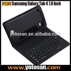 Wireless Bluetooth Keyboard Case Cover for Samsung Galaxy Tab 4 7.0 Inch