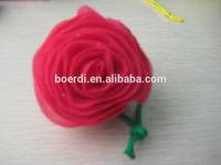 Rose reusable folding shopping bag