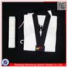 Martial arts Taekwondo uniform/black V-neck taekwondo suits