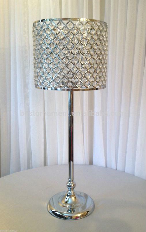 Wedding Centerpieces Tall Acrylic Crystal Lamp Shade Buy