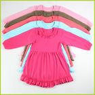 2014 new style long sleeve cute girls dress wholesale korean dress for winter