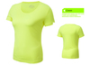 quick dry polyester sports tshirt