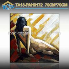 Promotional Item Dance Girl Oil Painting
