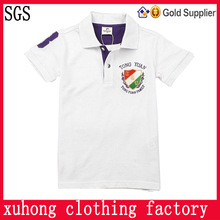 USA children uniform polo shirts company