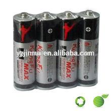 Carbon zinc battery 16B pack AA