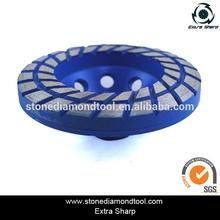 Diamond concrete grinding/polishing cup wheel/wheel for floor