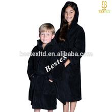 Super barato 100% absorvente de algodão com capuz banho kids crianças veste