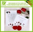 Good Quality Customized Scroll Wedding Invitations